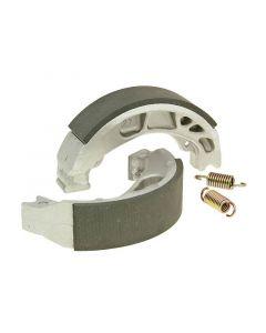 Bremsbackensatz 110x25mm für Trommelbremse für Peugeot Django, Kisbee, Speedfight 3