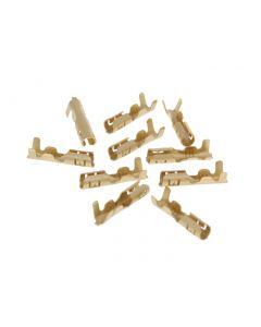 Kabelverbinder / Kabelschuh rund weiblich 10er Pack