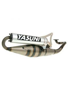 Auspuff Yasuni Scooter Z Aluminium für Minarelli liegend