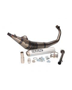 Auspuff Yasuni R1 MAX Aluminium für Aprilia RS50, MBK X-Power, Rieju RS, MH RX, Yamaha TZR