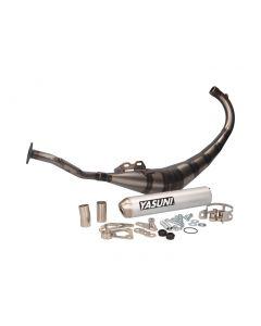 Auspuff Yasuni R2 MAX Aluminium für Aprilia RS50, MBK X-Power, Rieju RS, MH RX, Yamaha TZR