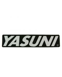 Aufkleber Endschalldämpfer 170x38mm YASUNI