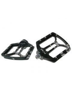 n8tive Flat Pedal NOAX V.1 kaltgeschmiedet - schwarz