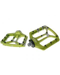 n8tive Flat Pedal NOAX V.1 kaltgeschmiedet - grün