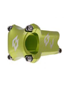 n8tive Enduro Vorbau kaltgeschmiedet 31,8mm Ext 50mm, Angle 0° - 1st Edition - grün
