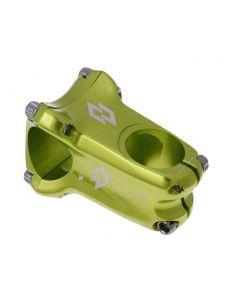 n8tive Enduro Vorbau kaltgeschmiedet 31,8mm Ext 50mm, Angle 0° - grün
