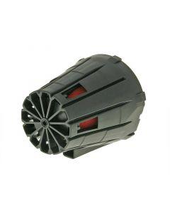 Luftfilter Boxed 39-45mm gerade schwarz
