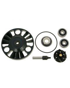 Reparaturkit Wasserpumpe für Piaggio Motor 125-200ccm (zweiteilige Welle)