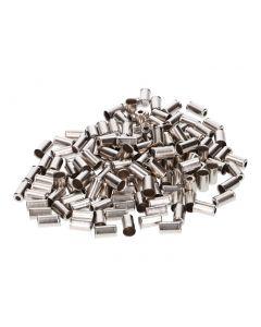 Endkappen für Bowdenzughülle Metall 6mm 150 Stück