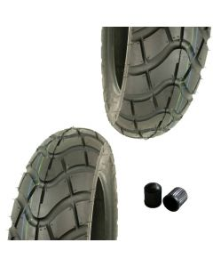 Reifen Set 2x KENDA K761 Allwetterreifen SET 120/90-10 56J TL
