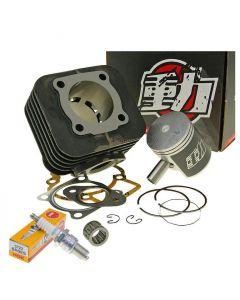 Zylinder Kit 70ccm NARAKU + Zündkerze NGK BR9ES+ Nadellager Piaggio AC