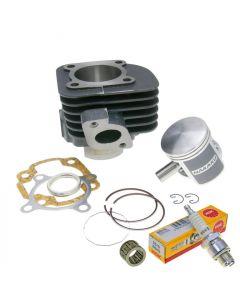 Zylinder Kit 70ccm NARAKU + Nadellager + Zündkerze NGK B8HS 2-Takt China Motor (1E40QMB)
