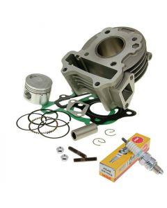 Zylinder Kit 50ccm GY6 Chinaroller, Kymco 4-Takt 139QMB/QMA