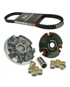 Variomatik Naraku Racing V.2 + Keilriemen NARAKU Minarelli 13mm