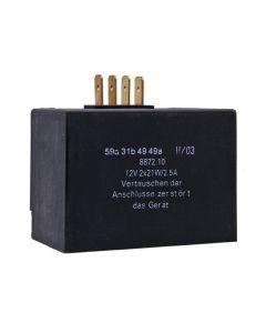 Laderegler / Blinkgeber 12V 2x21W, 2,5A für Simson S51, S52, S70, S83, SR50, SR80