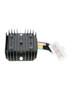 Regler / Gleichrichter mit Anschlusskabel 6-polig für GY6 50-150ccm, MuZ Moskito
