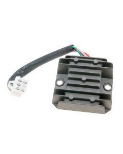 Regler / Gleichrichter mit Anschlusskabel 5-polig für SYM, Baotian, Adly (GY6 50-150ccm)