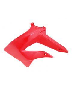 Tankverkleidung links OEM rot für Derbi Senda 2011-, Gilera RCR, SMT 2011-