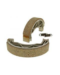 Bremsbackensatz 140x25mm für Trommelbremse für Aprilia Scarabeo, Gilera Runner, Piaggio Liberty