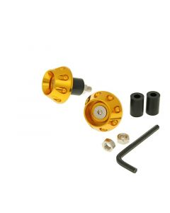 Lenkerende Vibrationsdämpfer Flat 13,5 / 17,5mm - gold