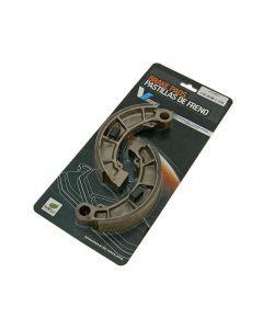 Bremsbackensatz 160x30mm für Trommelbremse für Honda Foresight, Pantheon 2T FES, TRX 350, 400, 420, 450 FourTrax